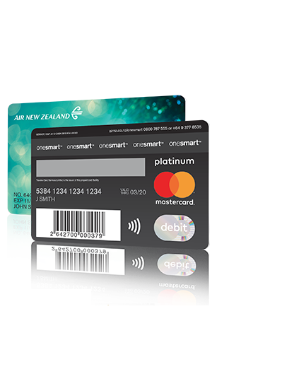 Air New Zealand – OneSmart Prepaid Travel Money Card